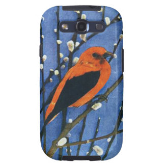 Scarlet Tanager Samsung Galaxy SIII Covers