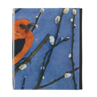 Scarlet Tanager iPad Cases