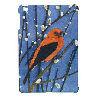 Scarlet Tanager Case For The iPad Mini