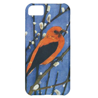 Scarlet Tanager iPhone 5C Covers