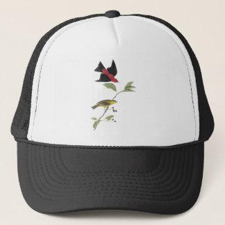 Scarlet Tanager - John James Audubon Trucker Hat