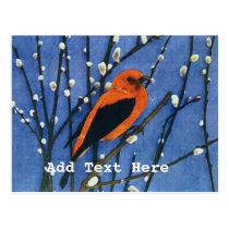 Scarlet Tanager Postcard
