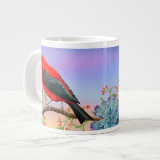 Scarlet Tanager Wild Bird Jumbo Mug