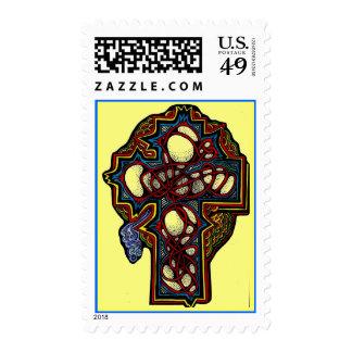 Scarlet Thread Cross Postage
