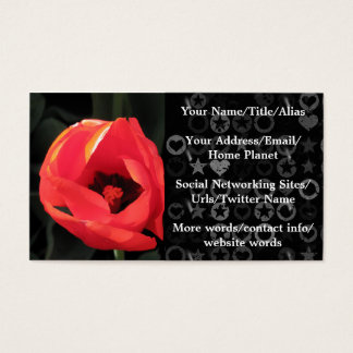 Scarlet Tulip Business Card