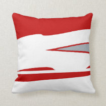 Scarlet Warrior 3 Throw Pillow