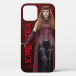 Scarlet Witch Character Art iPhone 12 Case