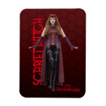 Scarlet Witch Character Art Magnet