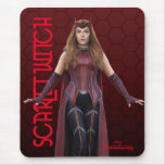 Scarlet Witch Character Art Mouse Pad