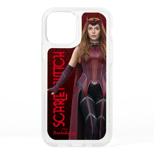 Scarlet Witch Character Art Speck iPhone 12 Case