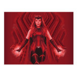 Scarlet Witch Graphic Postcard