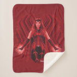 Scarlet Witch Graphic Sherpa Blanket