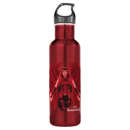 Scarlet Witch Graphic Stainless Steel Water Bottle