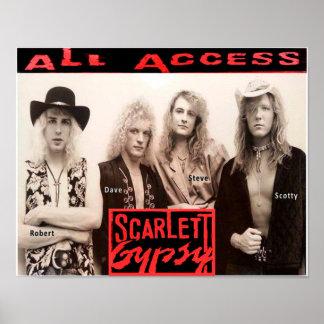 Scarlett Gypsy All Access Album 14x11 Poster