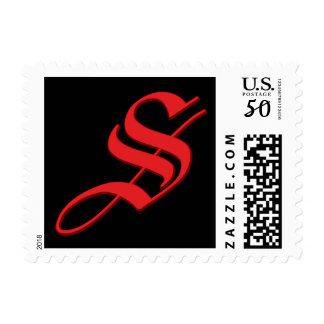 Scarlette Bartending Postage Stamp