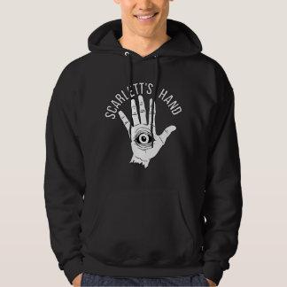 Scarlett's Hand Logo Men's Black Hoodie