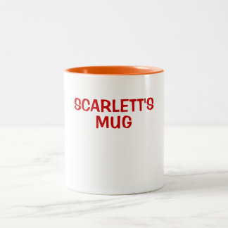 SCARLETT'S MUG
