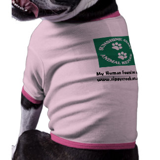 SCARS_drk_green_logo, My Human Found me at www.... Dog Clothes