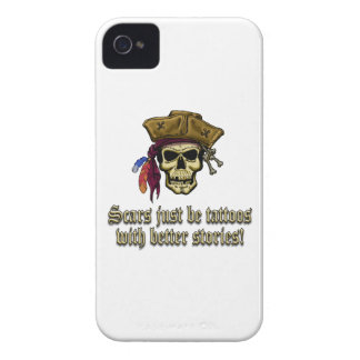 Scars Just be Tattoos Case-Mate iPhone 4 Case