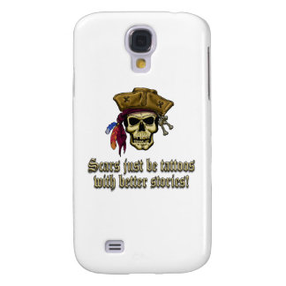 Scars Just be Tattoos Galaxy S4 Cover