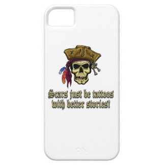 Scars Just be Tattoos iPhone SE/5/5s Case