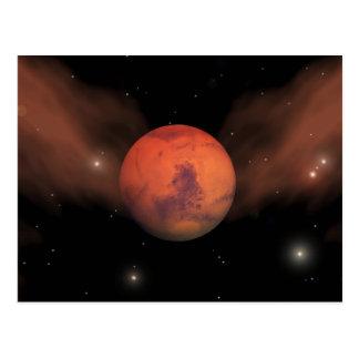 Scars of Mars Postcard