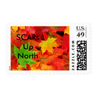 SCARs Up North Fall Stamps