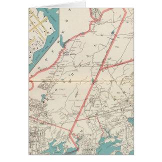 Scarsdale, New Rochelle, ciudades de Mamaroneck Tarjeta De Felicitación