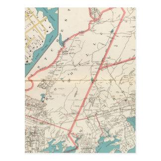 Scarsdale, New Rochelle, ciudades de Mamaroneck Tarjetas Postales