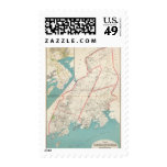 Scarsdale, New Rochelle, Mamaroneck towns Postage