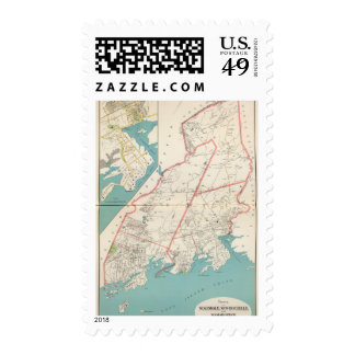 Scarsdale, New Rochelle, Mamaroneck towns Stamps