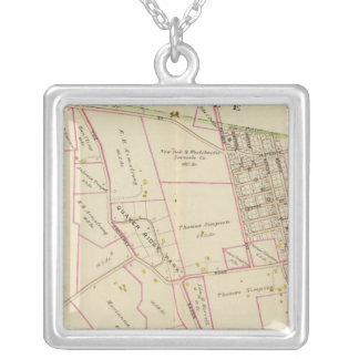 Scarsdale, New York Silver Plated Necklace