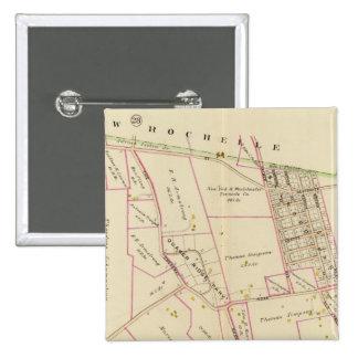 Scarsdale, Nueva York Pin Cuadrado