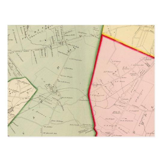 Scarsdale, White Plains, New York Postcard