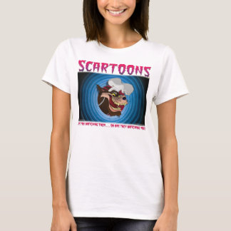SCARTOONS White Wolf T-Shirt