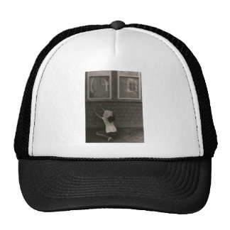 Scarves at the Window Trucker Hat