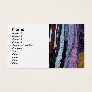 Scarves Business Card