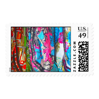 Scarves in Bright Colours Postage
