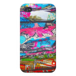 Scarves in Multi-Colours iPhone 4 Case