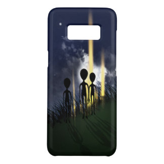 Scary Alien Abduction Case-Mate Samsung Galaxy S8 Case