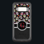 "Scary and bloodcurdling intimidating sugar skull OtterBox commuter samsung galaxy s8 case<br><div class=""desc"">This OtterBox has a Sugar skulls with black leather bottom and a red Monogram.</div>"