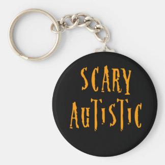 Scary Autistic Keychain