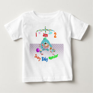 Scary baby monster. baby T-Shirt