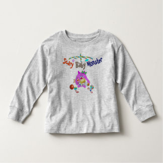 Scary baby monster kid tshirt
