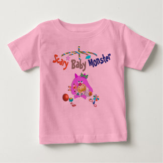 Scary baby monster t-shirt. baby T-Shirt