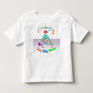 Scary baby monster. toddler t-shirt