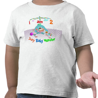 Scary baby monster. shirt