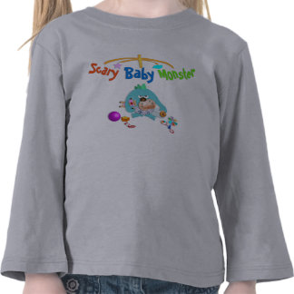 Scary baby monster. t-shirt