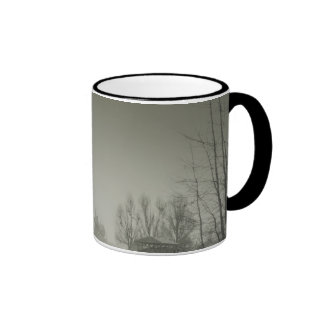 Scary Background For Halloween. Old Grave Mugs
