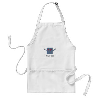 Scary Bat_monsters.011 Adult Apron